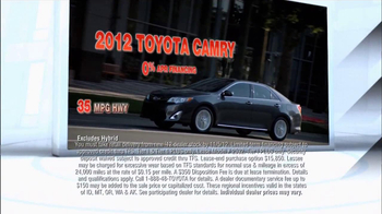 Toyota Camry TV Spot, 'People Who Know Cars' - Thumbnail 5