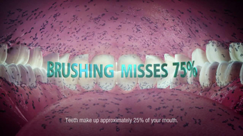 Listerine TV Spot, 'Man's Mouth in a Day' - Thumbnail 5