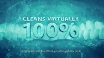 Listerine TV Spot, 'Man's Mouth in a Day' - Thumbnail 7