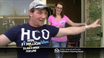 Publishers Clearing House TV Spot '$5,000 Every Week'