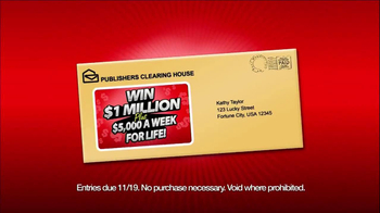 Publishers Clearing House TV Spot '$5,000 Every Week' - Thumbnail 4