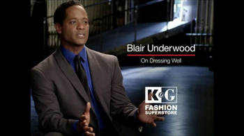 K&G Fashion Superstore TV Spot, 'On Dressing Well' Feat. Blair Underwood - Thumbnail 1