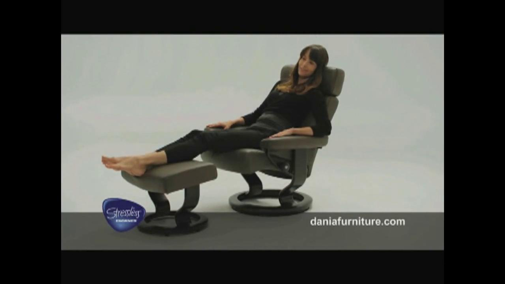 Cool Dania Tv Commercial Stressless From Ekornes Video Gmtry Best Dining Table And Chair Ideas Images Gmtryco