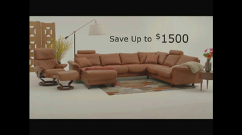 Dania TV Spot, 'Stressless from Ekornes' - Thumbnail 10