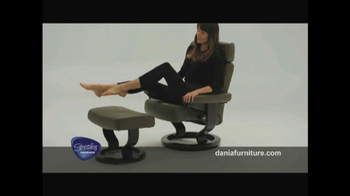 Dania TV Spot, 'Stressless from Ekornes' - Thumbnail 4