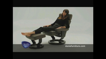 Dania TV Spot, 'Stressless from Ekornes'