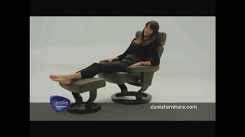 Dania TV Spot, 'Stressless from Ekornes' - Thumbnail 8