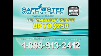 Safe Step TV Spot, 'Safety' Featuring Pat Boone - Thumbnail 9
