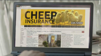 Esurance TV Spot, 'Cheep Insurance'