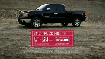 2012 GMC Sierra TV Spot, 'Truck Month' - 76 commercial airings