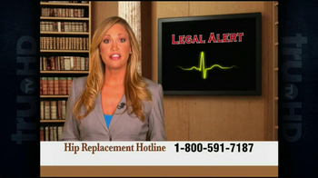 Weitz and Luxenberg TV Spot, 'Hip Implant Lawsuit'