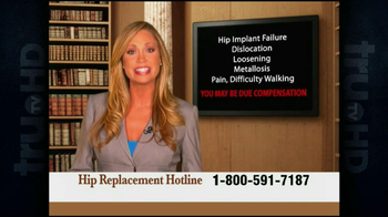 Weitz and Luxenberg TV Spot, 'Hip Implant Lawsuit' - Thumbnail 3