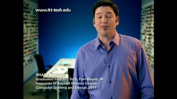 ITT Technical Institute TV Spot, 'Shane Currie'