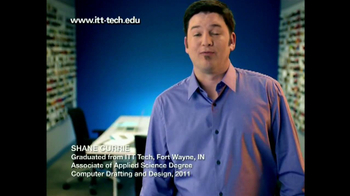 ITT Technical Institute TV Spot, 'Shane Currie'