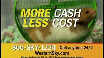 Western Sky Financial TV Spot, \'Hamster Wheel\'
