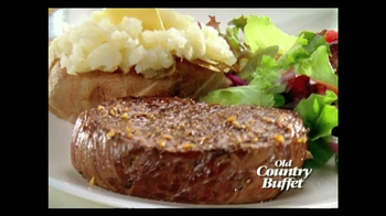 Old Country Buffet Great Steak Pledge TV Spot - Thumbnail 10