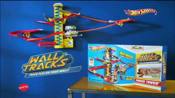 Hot Wheels Wall Tracks Power Tower TV Spot
