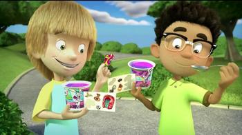 Trix Yogurt TV Spot, 'Silly Swirly Stickers' - Thumbnail 9