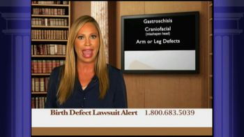 Weitz and Luxenberg TV Spot, 'Birth Defect Lawsuit'