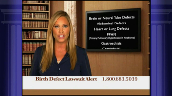 Weitz and Luxenberg TV Spot, 'Birth Defect Lawsuit' - Thumbnail 3