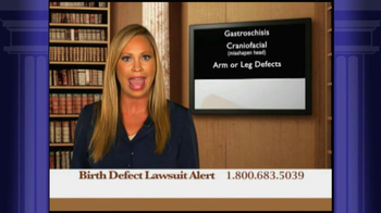 Weitz and Luxenberg TV Spot, \'Birth Defect Lawsuit\'