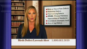Weitz and Luxenberg TV Spot, 'Birth Defect Lawsuit' - Thumbnail 9