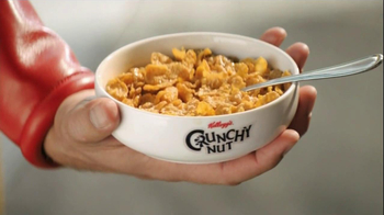 Crunchy Nut Cereal TV Spot, 'Cafe' - Thumbnail 5