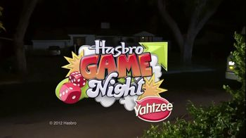 Yahtzee TV Spot, 'Hasbro Game Night: Bringing the Game' - 46 commercial airings