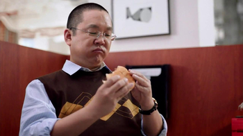 Wendy's Bacon Portabella Melt TV Spot, 'Nope' Featuring Aaron Takahashi - Thumbnail 3