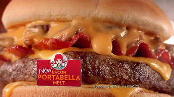 Wendy's Bacon Portabella Melt TV Spot, 'Nope' Featuring Aaron Takahashi - Thumbnail 6