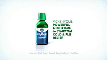 NyQuil TV Spot Featuring Drew Brees - Thumbnail 8
