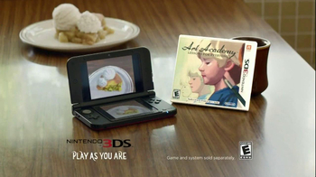 Nintendo 3DS Art Academy TV Spot, 'Abstract Dessert' Featuring Dianna Agron - Thumbnail 8