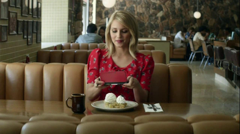Nintendo 3DS Art Academy TV Spot, 'Abstract Dessert' Featuring Dianna Agron - Thumbnail 4
