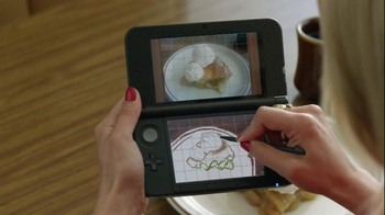 Nintendo 3DS Art Academy TV Spot, 'Abstract Dessert' Featuring Dianna Agron - Thumbnail 6