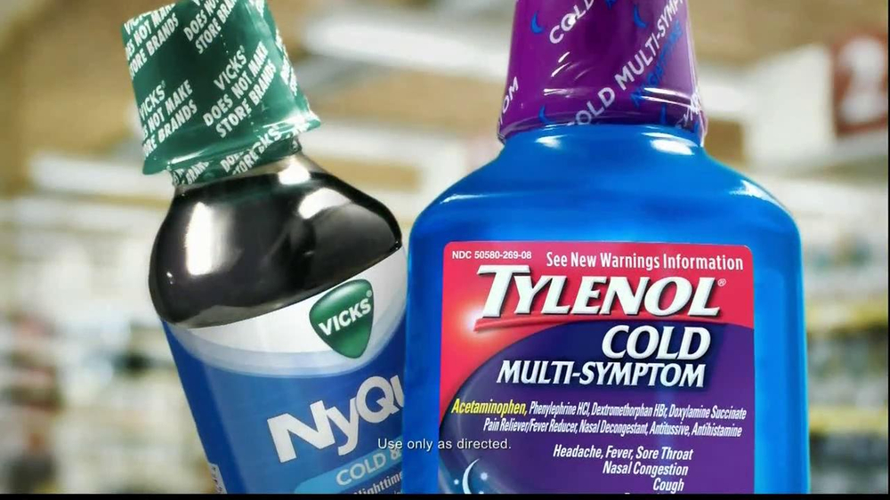 Tylenol Cold Multi-Symptom & Nyquil TV Commercial, 'Label'
