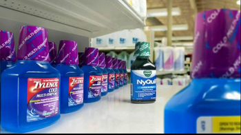 Tylenol Cold Multi-Symptom & Nyquil TV Spot, 'Label' - Thumbnail 4