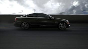 2013 Mercedes-Benz C-Class Coupe TV Spot, 'Race Track'  - Thumbnail 1