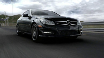 2013 Mercedes-Benz C-Class Coupe TV Spot, 'Race Track'  - Thumbnail 9
