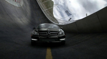 2013 Mercedes-Benz C-Class Coupe TV Spot, 'Race Track'  - 538 commercial airings