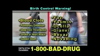 Pulaski & Middleman TV Spot, 'Birth Control Injuries' - Thumbnail 4