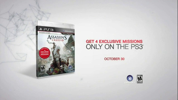 Assassins Creed III TV Spot, '4 Exclusive Missions' - Thumbnail 10