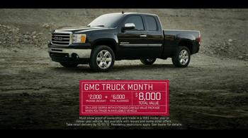 V8 GMC Sierra TV Spot, 'Truck Month' - Thumbnail 10