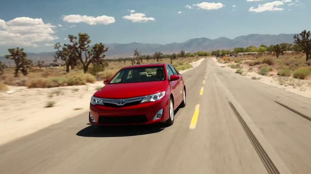 Toyota Camry One Event TV Commercial, Test Drive