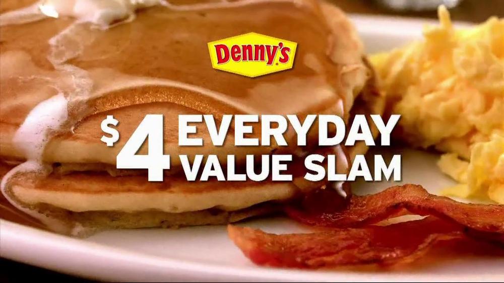 Denny's Everyday Value Slam TV Spot