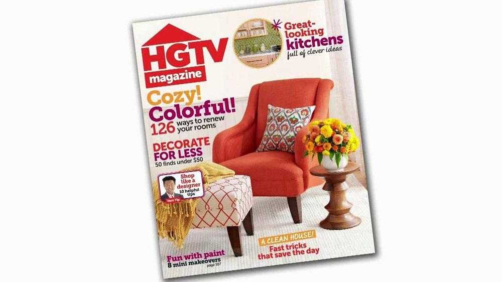 HGTV Magazine TV Commercial, 'New Kind of Magazine' - Video