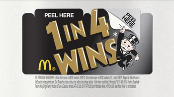 McDonald's Monopoly Game TV Spot, 'Lightning' - Thumbnail 9