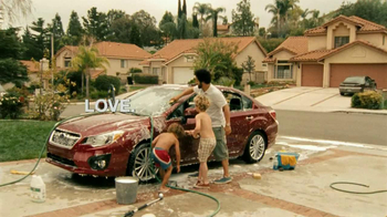 Subaru TV Spot, 'Kid Carwash'