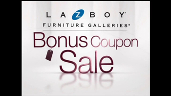 La-Z-Boy Bonus Coupon Sale TV Spot - Thumbnail 2