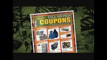 Cabela's Fall Savings Coupons TV Spot