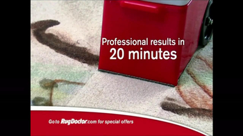Rug Doctor TV Spot For New Carpet Look - Thumbnail 6